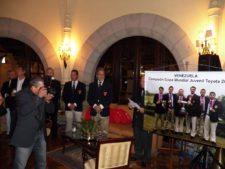 Alberto Betancourt, Javier Salaverría, Charlie Whaite y Freddy Alcántara - CCC - Junio,26'13