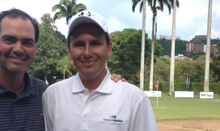 Juan Nutt y Luis Centeno se imponen en el III Torneo de Golf Tee Off a la Educación