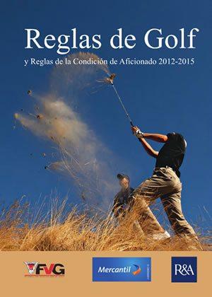 Libro de Reglas Golf FVG actualizado 2012-1015 con las últimas normas y reglas de la USGA