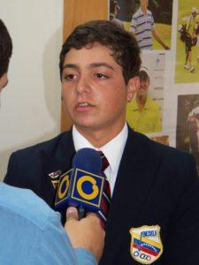 Ministro Benítez recibe Campeones Mundiales Juveniles de Golf