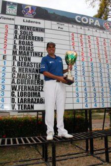 Otto Solis se quedó con la Copa OEG Internacional