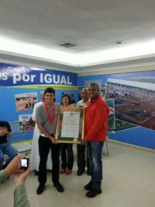 """Jorge """"Pichu"""" García nombrado """"Hijo Ilustre"""" de Anaco"""