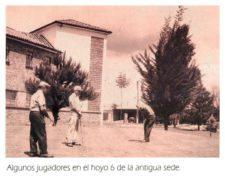 Algunos socios en hoyo 6 Antigua Sede Club Militar de Golf - Anterior 197.fw