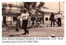 Gral.Alfonso.Rodríguez.Rubiano, Dr. René Hauzer y Dr. Efraín Díaz 1971
