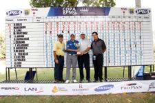 Otto Solís gana su tercer torneo consecutivo