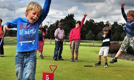 El Golf y nuestros hijos en edades formativas