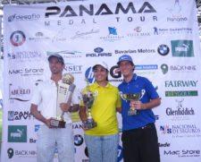 Miguel Ordoñez, Karen Gutierrez y Enrique Jiménez. Ganadores en sus Categorías del PMT 2013