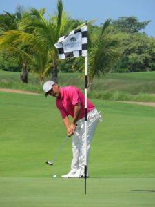 Alberto Arosemena en Gran Final - BMW Championship en Buenaventura Golf Club