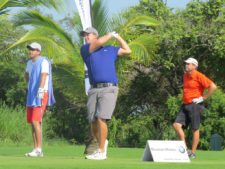 Anders Axelsson (Golfpeando), Raúl Ford (Pantalón Rojo) y Mark Barefoot (Pantalón Negro)