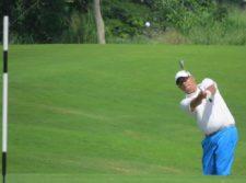 Edgar Cozarelly en Gran Final - BMW Championship en Buenaventura Golf Club