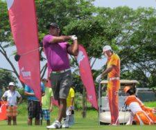 Federico Garrido en el BMW Championship en Buenaventura Golf Club