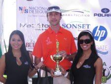 Giuseppe Mancinelli en Gran Final BMW Championship en Buenaventura Golf Club