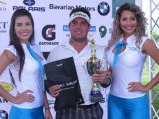 Jerónimo Ibarra en la Gran Final BMW Championship en Buenaventura Golf Club