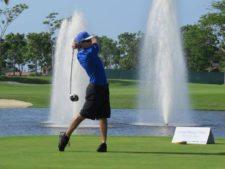 Enrique Jiménez en ll BMW Championship en Buenaventura Golf Club