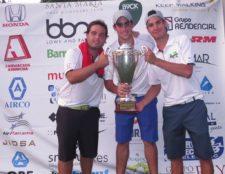 Campeones del Torneo - Eduardo De Diego, Raúl Arango y Luis Mercado