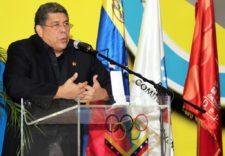 Profesor Eduardo Álvarez Presidente COV (cortesía puntoolimpico.com.ve)