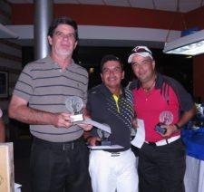 Gregorio Chuljak, Jorge Rodríguez y Víctor Boniffatti - Ganadores del Pro-Am