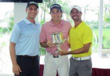 Nick Altman, Jean Pierre De Roux (Campeón Del Club) y Miguel Ordoñez
