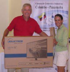 Roberto y Marlene Vallarino - Ganadores del 3er Lugar