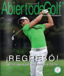 Portada No.124 Revista Abierto de golf / Fedegolf