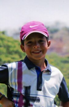 """Quiero ser golfista toda mi vida"""