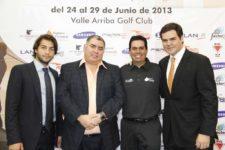 José Ant. González (Seg. Pirámide) & Otto Solís en el medio