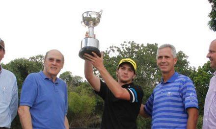 Alejandro Garmendia ganador de la Copa Bancaribe