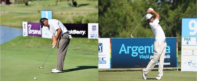 Argentinos Godoy y González adelante en el Personal Classic