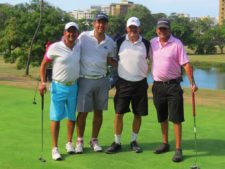 Grupo de participantes en Caraballeda Golf Club en La Guaira, Venezuela