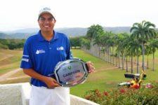 Otto Solís ganador Abierto Barquisimeto Golf Club