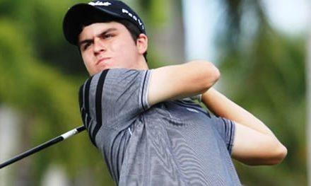 Jorge García (El Pichu) está en la Final del Polo Golf Junior Classic