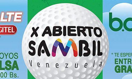 X Abierto Sambil de golf cuenta con Premio de 335 mil bolívares