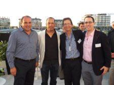 Pato Cabrera, Miguel Carballo, Eduardo Pérez Paris y Adam Chupac (Golfweek)