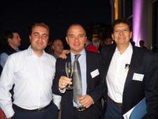 Carlos Avendaño (Col), Antonello María Roccoa (Ita) y Mauricio Durazo Villanueva (México)