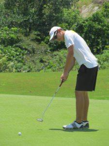 """Mi próxima meta es jugar College Golf"""