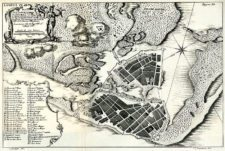 Plano de Cartagena de las Indias (1735)