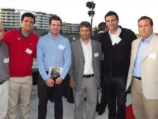 Arturo León (Perú), Felipe Benzanilla (Chile), Alejandro Klappenbach, Federico Diner y Julio Aliseris Laporte (Uruguay)