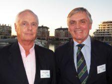 Federico Maurer (Pres. Nordelta) y Patricio Weiss (AAG)