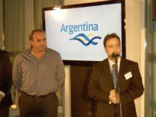 Pato Cabrera y Roberto Palais (Oficina Turismo Argentina