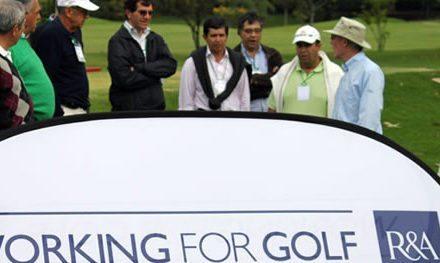 Colombia recibe grupo de expertos de Reglas de Golf de R&A