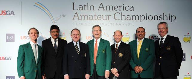 El Masters, la R&A y la USGA anuncian la formación del Campeonato Amateur Latinoamericano