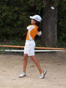 "Campeona Infantil ""C"" Lucía Ramírez (Fotos Fairway)"