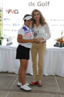 "Campeona Infantil ""D""Claudia Perazzo (Foto FVG/Wal)"