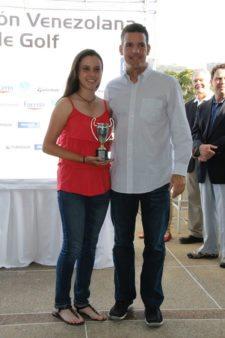 Campeona Juvenil Ma Andreína Barreto