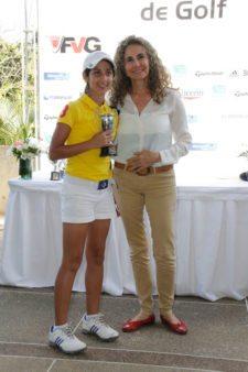 Campeóna PreJuvenil Vanessa Gilly (Foto FVG/Wal)