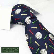 El Golf se la puso de Corbata (cortesía www.thetiestore.co.uk)