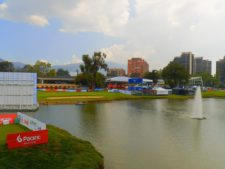Estadounidense Lunde logra terminar en la punta del Pacific Colombia Championship