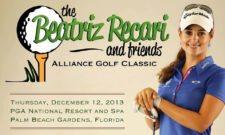 Beatriz Recari and friends Alliance Golf Classic