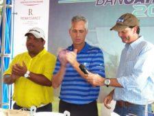 Miguel Martínez, Carlos Larrain y Juan Nutt