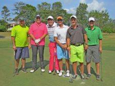 Bobby López, Roberto 'Bob' Arango, Fernando Arango, Jorge Luis Zubieta, Jorge Ávila y Raúl Del Valle
